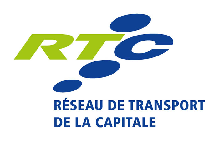 Logo réseau de transport de la capitale pour se rendre à catch the fire québec